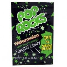 Pop Rocks Watermelon, Pack of 6 Pop Rocks