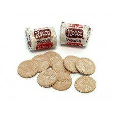 Wafer Rolls Chocolate Flavor From Necco-1Lb