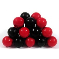 Sixlets Black And Red-1lb