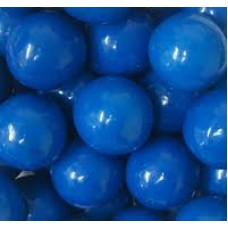 Gumballs Blue 25mm or 1 inch ( 60 counts )-1lb