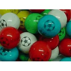 Gumballs Soccer 25mm or 1 inch ( 57 counts )-1lb
