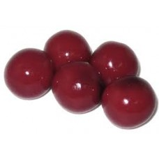 Gumballs Black Cherry 25mm or 1 inch ( 57 counts )-1lb