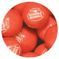 Gumballs Strawberry Banana 25mm or 1 inch ( 57 counts )-1lb