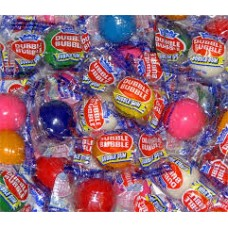 Gumballs Assorted Flavors Wrapped 25mm or 1 inch-1lb